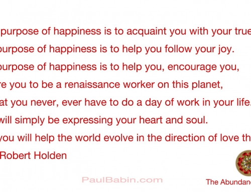 The Purpose of Happiness